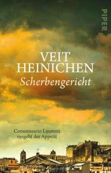 Veit Heinichen: Scherbengericht, Buch