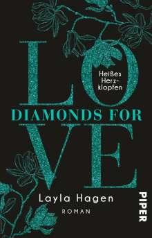 Layla Hagen: Diamonds For Love - Heißes Herzklopfen, Buch