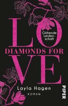 Layla Hagen: Diamonds For Love - Glühende Leidenschaft, Buch