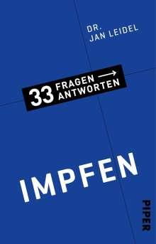 Jan Leidel: Impfen, Buch