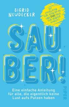 Sigrid Neudecker: Sauber!, Buch