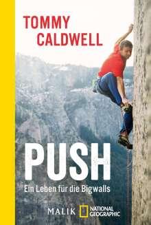 Tommy Caldwell: Push, Buch