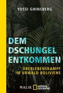 Yossi Ghinsberg: Dem Dschungel entkommen, Buch