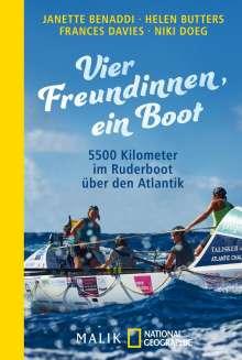Janette Benaddi: Vier Freundinnen, ein Boot, Buch