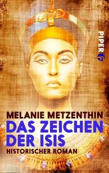 Melanie Metzenthin: Das Zeichen der Isis, Buch