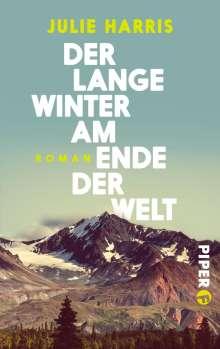 Julie Harris: Der lange Winter am Ende der Welt, Buch
