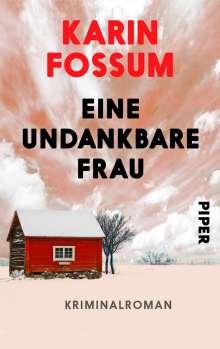 Karin Fossum: Eine undankbare Frau, Buch