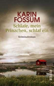 Karin Fossum: Schlafe, mein Prinzchen, schlaf ein, Buch