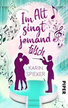 Karin Spieker: Im Alt singt jemand falsch, Buch