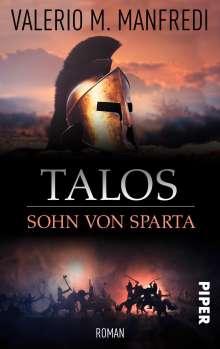 Valerio M. Manfredi: Talos, Sohn von Sparta, Buch