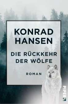 Konrad Hansen: Die Rückkehr der Wölfe, Buch