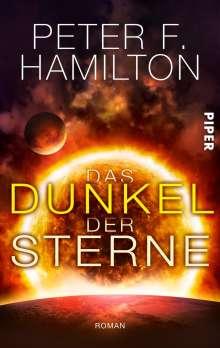 Peter F. Hamilton: Das Dunkel der Sterne, Buch
