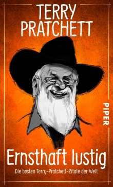 Terry Pratchett: Ernsthaft lustig, Buch
