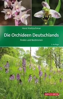 Horst Kretzschmar: Die Orchideen Deutschlands, Buch