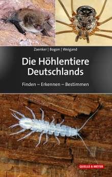 Stefan Zaenker: Die Höhlentiere Deutschlands, Buch