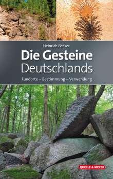 Heinrich Becker: Die Gesteine Deutschlands, Buch