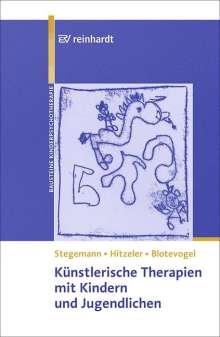 Thomas Stegemann: Künstlerische Therapien mit Kindern und Jugendlichen, Buch