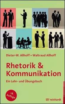 Dieter-W. Allhoff: Rhetorik & Kommunikation, Buch