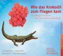 Katharina Lamprecht: Wie das Krokodil zum Fliegen kam, MP3-CD