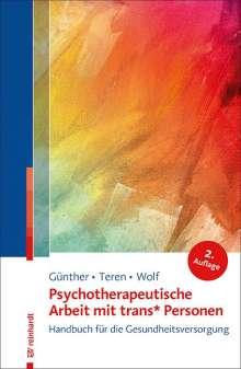 Mari Günther: Psychotherapeutische Arbeit mit trans* Personen, Buch