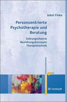 Jobst Finke: Personzentrierte Psychotherapie und Beratung, Buch