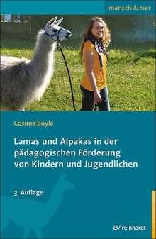 Cosima Boyle: Lamas und Alpakas in der pädagogischen Förderung von Kindern und Jugendlichen, Buch