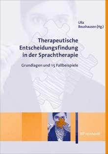 Therapeutische Entscheidungsfindung in der Sprachtherapie, Buch
