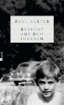 Paul Auster: Bericht aus dem Inneren, Buch
