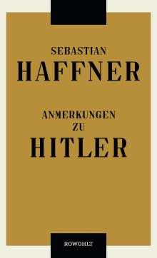 Sebastian Haffner: Anmerkungen zu Hitler, Buch