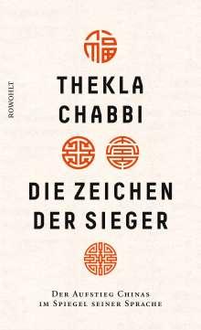 Thekla Chabbi: Die Zeichen der Sieger, Buch