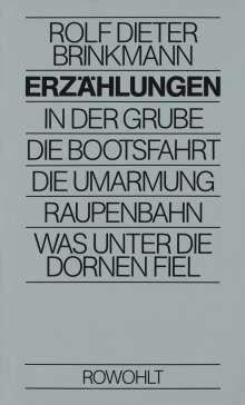 Rolf Dieter Brinkmann: Erzählungen, Buch