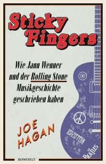 Joe Hagan: Sticky Fingers, Buch