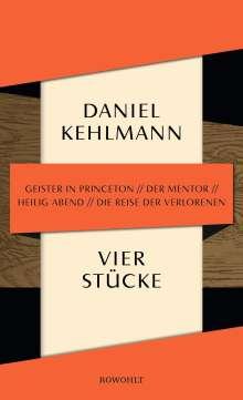 Daniel Kehlmann: Vier Stücke, Buch