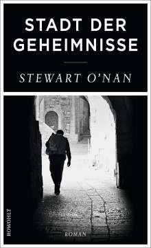 Stewart O'Nan: Stadt der Geheimnisse, Buch