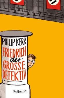 Philip Kerr: Friedrich der Große Detektiv, Buch