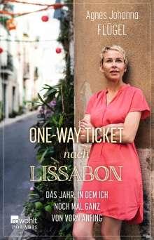 Agnes Johanna Flügel: One-Way-Ticket nach Lissabon, Buch