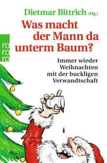 Was macht der Mann da unterm Baum?, Buch