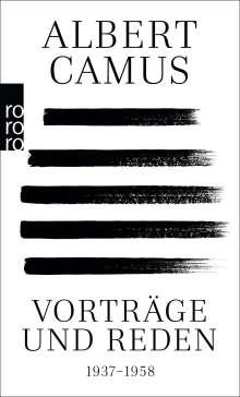 Albert Camus: Vorträge und Reden, Buch