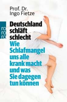 Ingo Fietze: Deutschland schläft schlecht, Buch