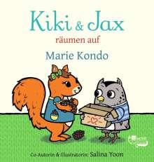 Marie Kondo: Kiki & Jax räumen auf, Buch