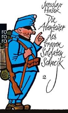 Jaroslav Hasek: Die Abenteuer des braven Soldaten Schwejk. Bd.2, Buch