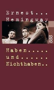 Ernest Hemingway: Haben und Nichthaben, Buch