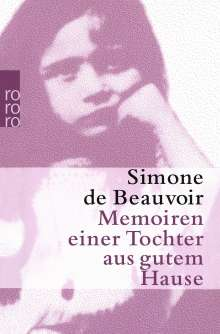 Simone de Beauvoir: Memoiren einer Tochter aus gutem Hause, Buch