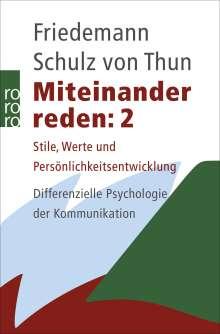 Friedemann Schulz von Thun: Miteinander reden 2, Buch