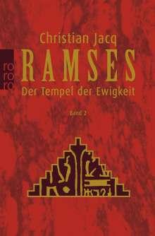 Christian Jacq: Ramses 2. Der Tempel der Ewigkeit, Buch