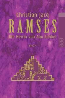 Christian Jacq: Ramses 4. Die Herrin von Abu Simbel, Buch