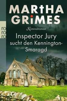 Martha Grimes: Inspector Jury sucht den Kennington-Smaragd, Buch