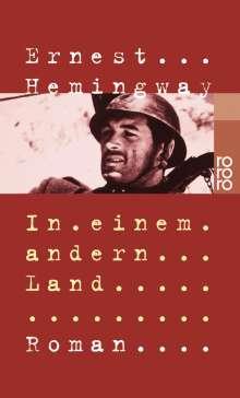 Ernest Hemingway: In einem andern Land, Buch