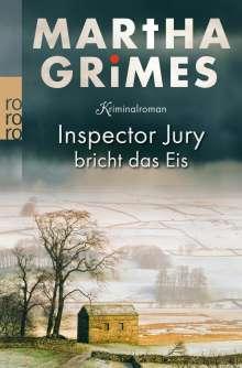 Martha Grimes: Inspector Jury bricht das Eis, Buch