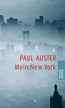 Paul Auster: Mein New York, Buch